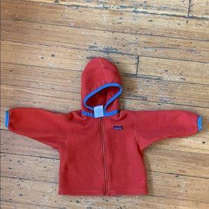 GUC Patagonia fleece jacket 18M